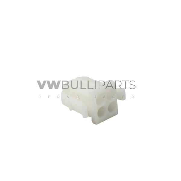 VW T3 Gehäuse Rundsteckgehäuse Gebläsemotor 4 polig